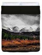 Big Storm Duvet Cover by Jon Burch Photography
