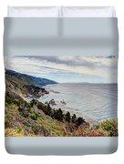 Big Sur Serenity  Duvet Cover by Heidi Smith