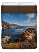 Big Sur Vista Duvet Cover by Mike Reid