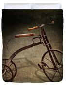 Bike - The Tricycle  Duvet Cover by Mike Savad
