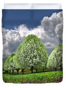 Billows Duvet Cover by Debra and Dave Vanderlaan