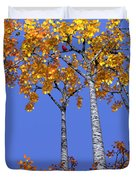 Birch Grove Duvet Cover by Cynthia Decker