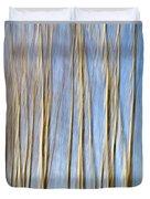 Birch Trees Duvet Cover by Stelios Kleanthous