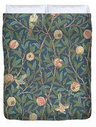 Bird And Pomegranate Duvet Cover by William Morris