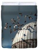 Bird - BIRDS Duvet Cover by Mike Savad