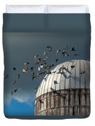 Bird - Birds Duvet Cover by Mike Savad