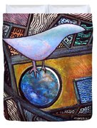 Birdball Duvet Cover by James Raynor