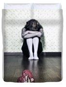 Bleeding Heart Duvet Cover by Joana Kruse