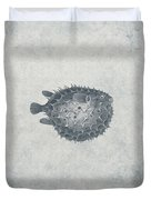 Blowfish - Nautical Design Duvet Cover by World Art Prints And Designs