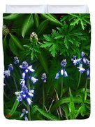 Blue Bells Duvet Cover by Aimee L Maher Photography and Art