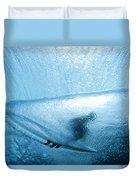 Blue Cocoon Duvet Cover by Sean Davey