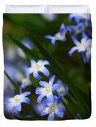 Blue For You Duvet Cover by Neal  Eslinger