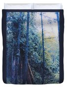 Blue Forest By Jrr Duvet Cover by First Star Art