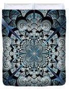 Blue Gates Duvet Cover by Anastasiya Malakhova