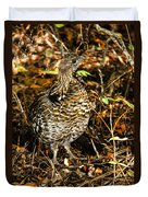 Blue Grouse Duvet Cover by Robert Bales