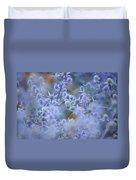 Blue Infinity Duvet Cover by Jenny Rainbow