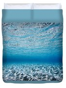 Blue Sea Duvet Cover by Sean Davey
