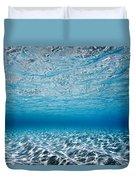Blue Sea Duvet Cover by Sean Davey