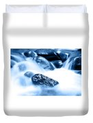 Blue Stream Duvet Cover by Les Cunliffe