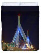 Blue Zakim Duvet Cover by Joann Vitali