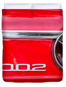 Bmw 2002 Taillight Emblem Duvet Cover by Jill Reger