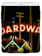 Boardwalk Duvet Cover by Digital Kulprits