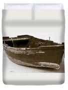 Boat Duvet Cover by Frank Tschakert