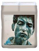 Bob Dylan Duvet Cover by Paul Lovering