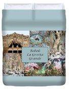 Boboli La Grotta Grande 1 Duvet Cover by Ellen Henneke