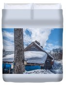 Boiling The Sap Duvet Cover by Alana Ranney