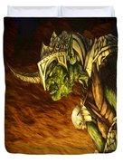 Bolg The Goblin King Duvet Cover by Curtiss Shaffer