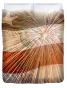 Bombs Bursting In Air Duvet Cover by Heidi Smith