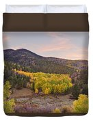 Bonanza Autumn View Duvet Cover by James BO  Insogna