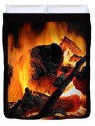 Bonfire  Duvet Cover by Chris Berry