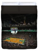 Boston Celtics Basketball Duvet Cover by Juergen Roth