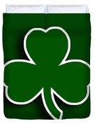 Boston Celtics Duvet Cover by Tony Rubino