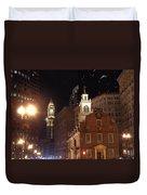 Boston History Duvet Cover by Joann Vitali