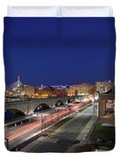 Boston Museum Of Science Duvet Cover by Juergen Roth