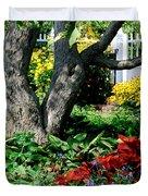 Botanical Landscape 2 Duvet Cover by Eunice Miller