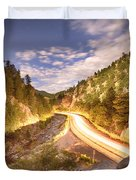Boulder Canyon Dreamin Duvet Cover by James BO  Insogna