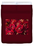 Boutique Roses Duvet Cover by Garry Gay