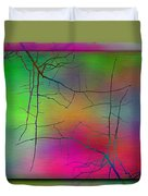 Branches In The Mist 23 Duvet Cover by Tim Allen