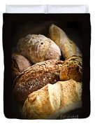Bread Loaves Duvet Cover by Elena Elisseeva
