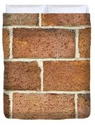 Brick Wall Duvet Cover by Frank Tschakert