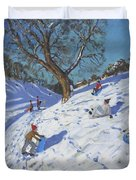 Bright Morning   Chatsworth Duvet Cover by Andrew Macara