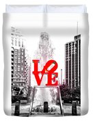 Brightest Love Duvet Cover by Bill Cannon