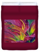 Brilliance Within Duvet Cover by Marilyn  McNish