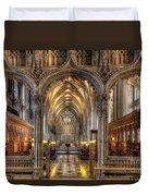 British Church Duvet Cover by Adrian Evans