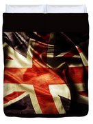 British Flag  Duvet Cover by Les Cunliffe