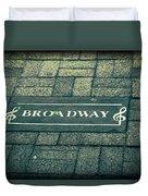 Broadway Duvet Cover by Dan Sproul